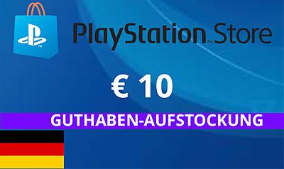 Einfach und sicher online bestellen: PlayStation Store 10 EUR Guthaben (DE) in Österreich kaufen.