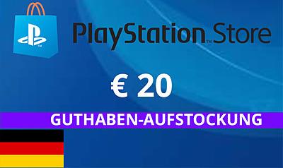 Einfach und sicher online bestellen: PlayStation Store 20 EUR Guthaben (DE) in Österreich kaufen.