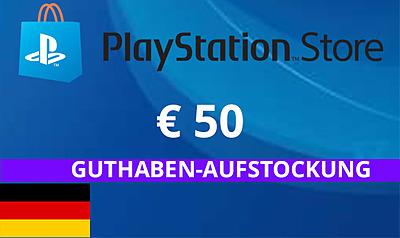 Einfach und sicher online bestellen: PlayStation Store 50 EUR Guthaben (DE) in Österreich kaufen.