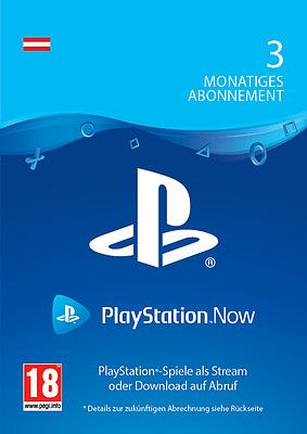 Einfach und sicher online bestellen: PlayStation Now 3 Monate - Österreich Streaming in Österreich kaufen.
