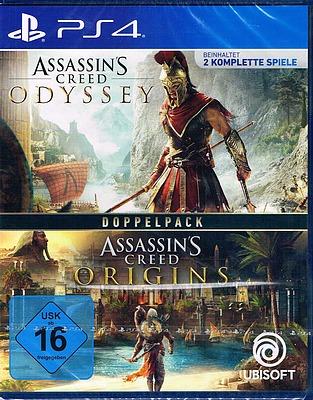 Einfach und sicher online bestellen: Assassin's Creed Odyssey + Origins in Österreich kaufen.