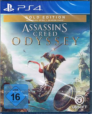 Einfach und sicher online bestellen: Assassin's Creed Odyssey Gold Edition (AT-PEGI) in Österreich kaufen.