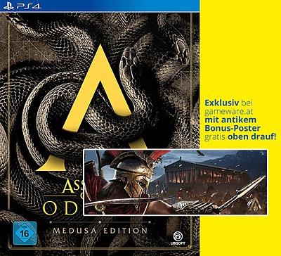 Einfach und sicher online bestellen: Assassin's Creed Odyssey Medusa Edition (AT-PEGI) in Österreich kaufen.