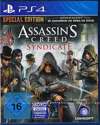 Einfach und sicher online bestellen: Assassin's Creed Syndicate Special D1 Edition (AT) in Österreich kaufen.