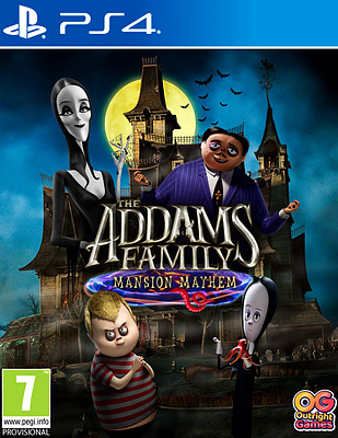 Einfach und sicher online bestellen: The Addams Family: Mansion Mayhem (PEGI) in Österreich kaufen.