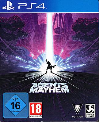 Einfach und sicher online bestellen: Agents of Mayhem Steelbook D1 Edition +7 DLCs (AT) in Österreich kaufen.