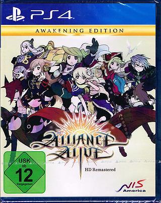 Einfach und sicher online bestellen: The Alliance Alive HD Remastered Awakening Edition in Österreich kaufen.