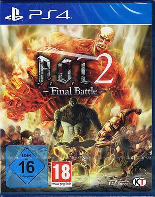 Einfach und sicher online bestellen: Attack on Titan 2 Final Battle in Österreich kaufen.