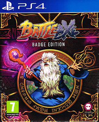 Einfach und sicher online bestellen: Battle Axe Badge Edition (PEGI) in Österreich kaufen.