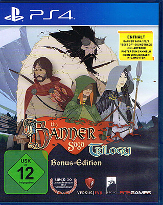 Einfach und sicher online bestellen: Banner Saga Trilogy in Österreich kaufen.