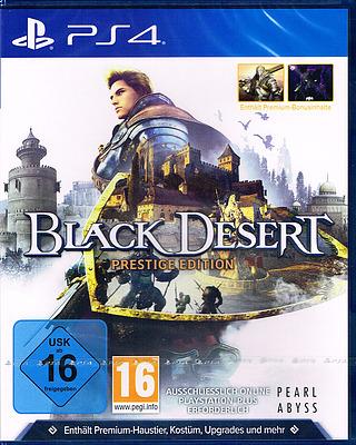Einfach und sicher online bestellen: Black Desert Prestige Edition in Österreich kaufen.