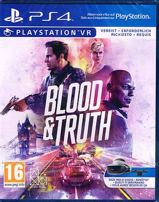 Einfach und sicher online bestellen: Blood & Truth (AT-PEGI) in Österreich kaufen.