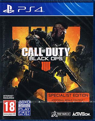 Einfach und sicher online bestellen: Call of Duty: Black Ops 4 Specialist (Englisch) in Österreich kaufen.