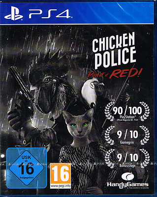 Einfach und sicher online bestellen: Chicken Police - Paint it RED! in Österreich kaufen.