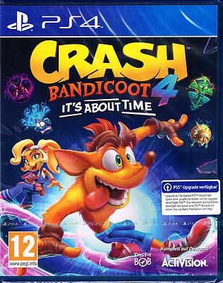 Einfach und sicher online bestellen: Crash Bandicoot 4: It's About Time in Österreich kaufen.