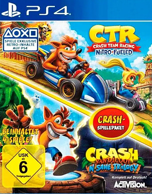 Einfach und sicher online bestellen: Crash Bandicoot N. Sane & Crash Team Racing in Österreich kaufen.