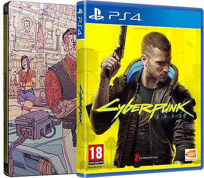 Einfach und sicher online bestellen: Cyberpunk 2077 Day 1 Edition (AT-PEGI) in Österreich kaufen.