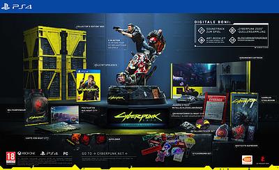 Einfach und sicher online bestellen: Cyberpunk 2077 Collectors Edition (AT-PEGI) in Österreich kaufen.