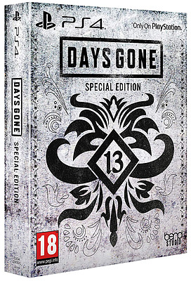 Einfach und sicher online bestellen: Days Gone Special Edition + 11 Boni (AT-PEGI) in Österreich kaufen.