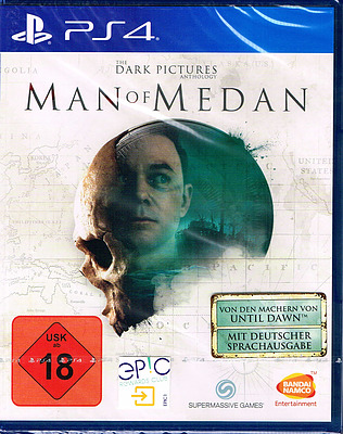 Einfach und sicher online bestellen: The Dark Pictures: Man of Medan + 3 Boni (AT-PEGI) in Österreich kaufen.