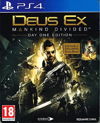 Einfach und sicher online bestellen: Deus Ex: Mankind Divided D1 Steelbook Edition (AT) in Österreich kaufen.