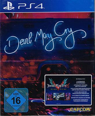 Einfach und sicher online bestellen: Devil May Cry 5 Deluxe Steelbook Edition (PEGI) in Österreich kaufen.
