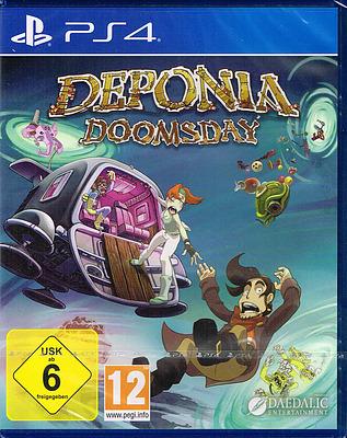 Einfach und sicher online bestellen: Deponia Doomsday in Österreich kaufen.