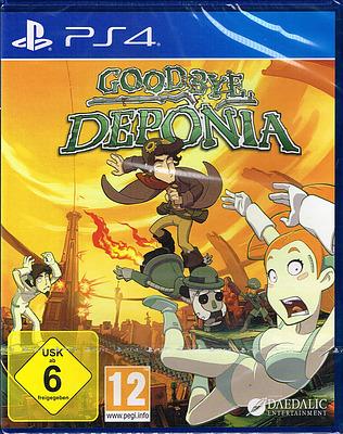 Einfach und sicher online bestellen: Deponia - Goodbye Deponia in Österreich kaufen.