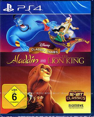 Einfach und sicher online bestellen: Disney Classic Col. Aladdin & König der Löwen in Österreich kaufen.