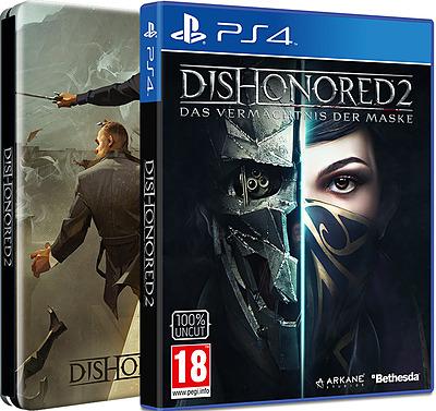 Einfach und sicher online bestellen: Dishonored 2 D1 Edition + Steelbook + 5 DLCs (AT) in Österreich kaufen.