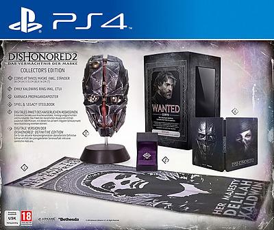 Einfach und sicher online bestellen: Dishonored 2 Collectors Edition + 5 DLCs in Österreich kaufen.