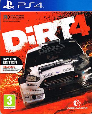 Einfach und sicher online bestellen: DiRT 4 Steelbook D1 Edition + 3 DLCs (AT-PEGI) in Österreich kaufen.