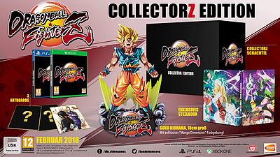 Einfach und sicher online bestellen: Dragon Ball FighterZ CollectorZ Edition in Österreich kaufen.
