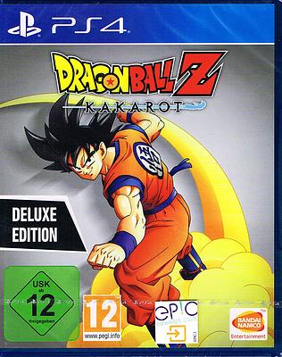 Einfach und sicher online bestellen: Dragon Ball Z: Kakarot DeLuxe Edition in Österreich kaufen.