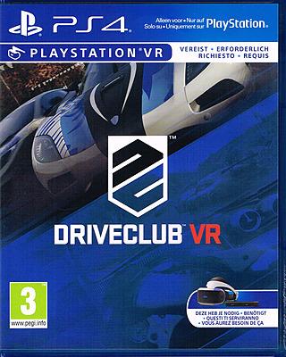 Einfach und sicher online bestellen: Driveclub VR (AT-PEGI) in Österreich kaufen.