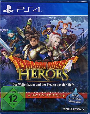 Einfach und sicher online bestellen: Dragon Quest - Heroes Day 1 Edition + 5 DLCs in Österreich kaufen.