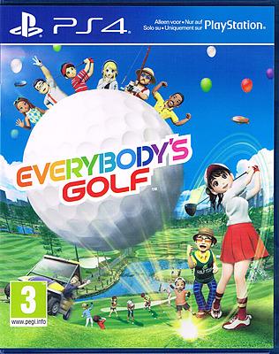 Einfach und sicher online bestellen: Everybodys Golf (AT-PEGI) in Österreich kaufen.