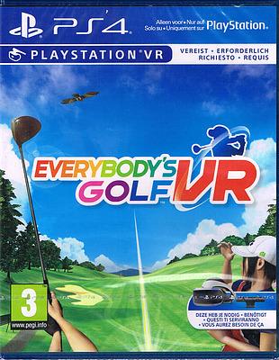 Einfach und sicher online bestellen: Everybodys Golf VR (AT-PEGI) in Österreich kaufen.