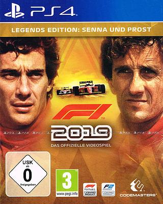 Einfach und sicher online bestellen: F1 2019 Legends Edition + 2 DLCs (AT-PEGI) in Österreich kaufen.