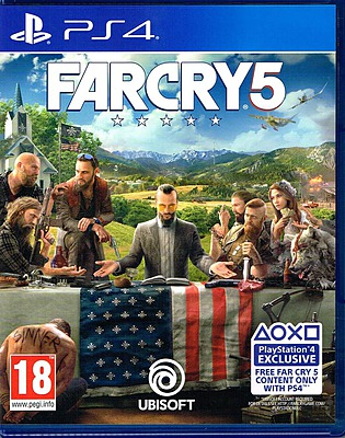Einfach und sicher online bestellen: Far Cry 5 + 6 DLCs + Bliss (AT-PEGI) in Österreich kaufen.