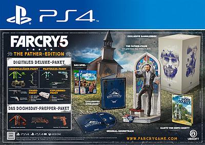 Einfach und sicher online bestellen: Far Cry 5 The Father's Edition + 6 DLCs in Österreich kaufen.