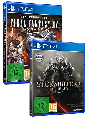 Einfach und sicher online bestellen: Final Fantasy XIV Double Pack in Österreich kaufen.