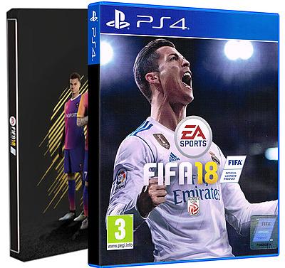 Einfach und sicher online bestellen: FIFA 18 Steelbook Edition + 3 DLCs (AT-PEGI) in Österreich kaufen.