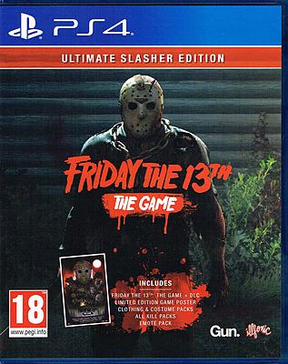 Einfach und sicher online bestellen: Friday the 13th Ultimate Slasher Edition (PEGI) in Österreich kaufen.