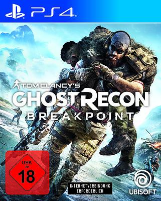 Einfach und sicher online bestellen: Ghost Recon Breakpoint + 4 Boni (AT-PEGI) in Österreich kaufen.