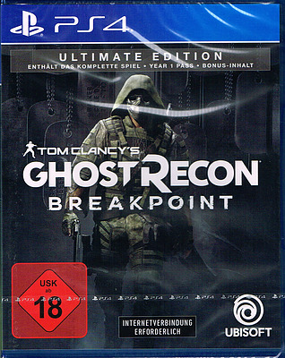 Einfach und sicher online bestellen: Ghost Recon Breakpoint Ultimate Edition in Österreich kaufen.