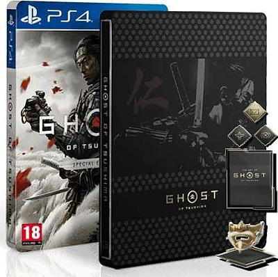 Einfach und sicher online bestellen: Ghost of Tsushima Special Edition + 8 Boni (AT) in Österreich kaufen.