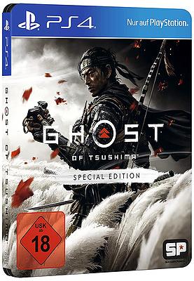 Einfach und sicher online bestellen: Ghost of Tsushima Special Edition + 8 Boni (USK) in Österreich kaufen.