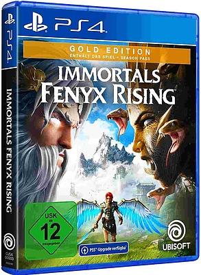Einfach und sicher online bestellen: Immortals Fenyx Rising Gold Edition (AT-PEGI) in Österreich kaufen.