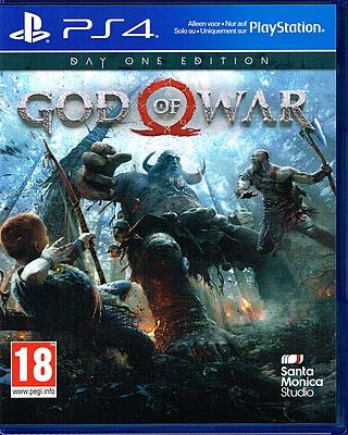 Einfach und sicher online bestellen: God of War Day One Edition (AT-PEGI) in Österreich kaufen.